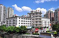 饭店建筑摄影