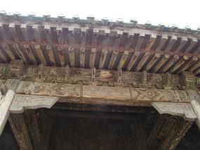 古老的屋檐
