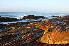 海礁石风光