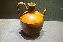 黄釉酒壶瓷器制品