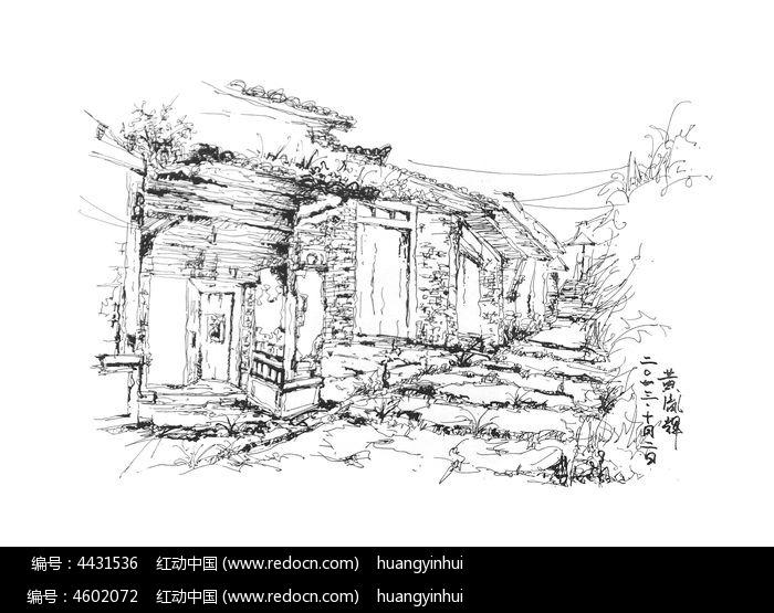 景观手绘-茶马古道图片
