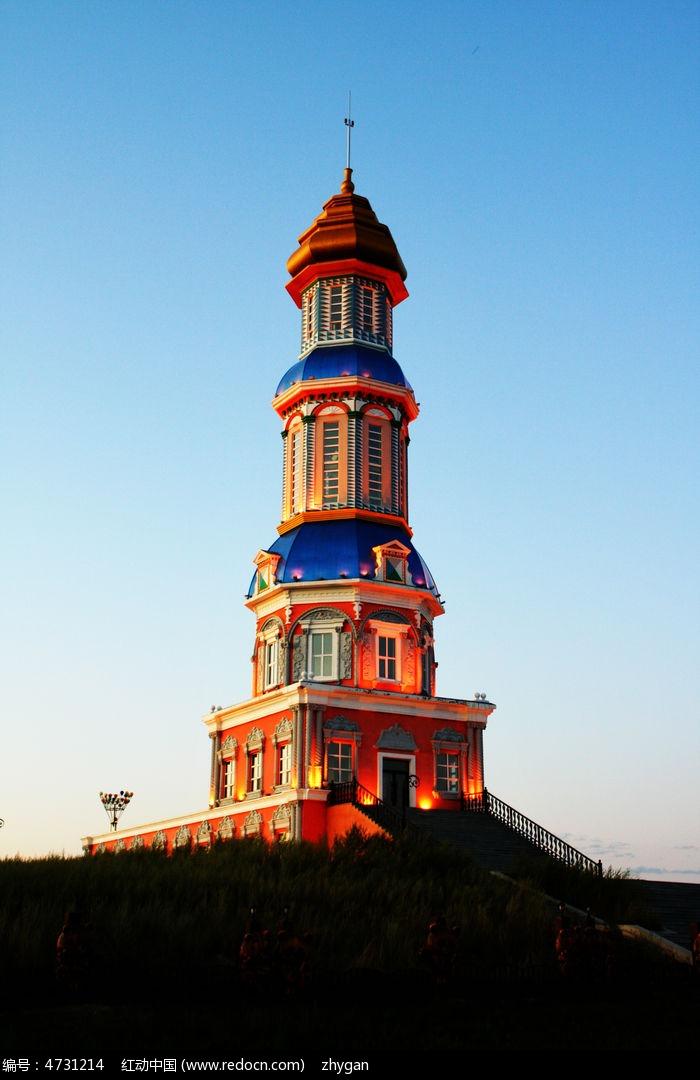 漂亮的俄罗斯建筑图片