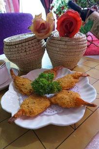 香草凤尾虾