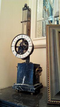别墅软装复古钟摆
