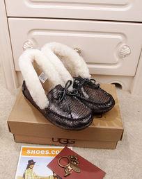 黑银蜥蜴纹豆豆鞋摄影