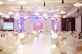 婚礼舞台场景
