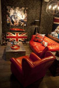 幽雅英式客厅