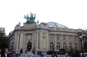 城市欧式酒店建筑