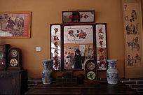 古董花瓶钟表