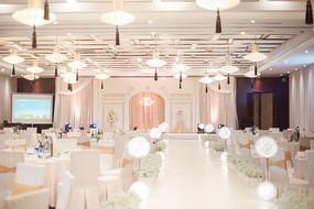 婚礼舞台全景