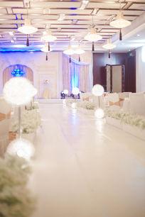 婚礼现场通道