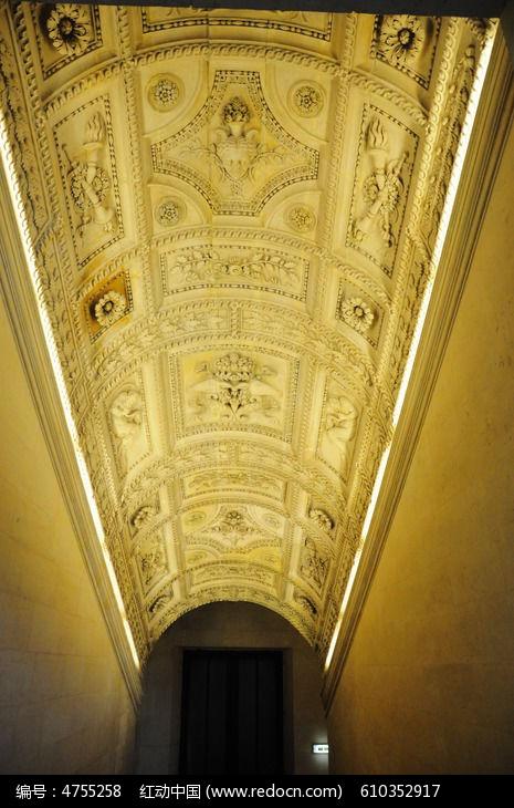 室内欧式雕花建筑图片