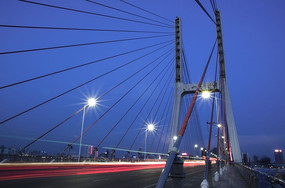 八一大桥夜景
