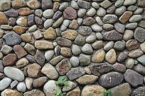 大块石头墙面纹理