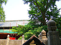 古代护栏建筑