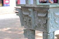 世界文化遗产圆明新园石雕鼎