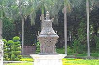 世界文化遗产圆明新园石雕香炉