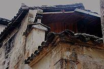 古民居里的屋檐特写