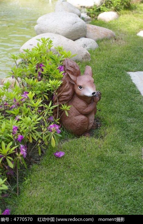 花园小动物装饰品