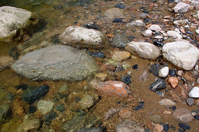 山间清澈小溪