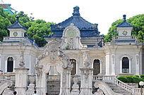 世界文化遗产圆明新园欧式全景建筑
