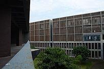 厦门工学院教学楼木质外墙
