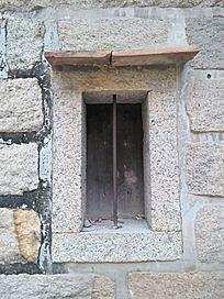早期老建筑石窗