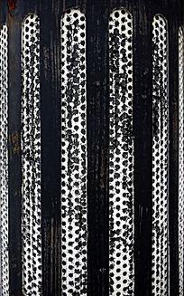 黑白点状条纹图片