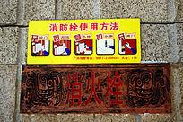 青铜器博物馆内消火栓