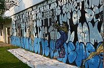 手绘文化墙