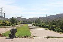 小广场道路景色图片