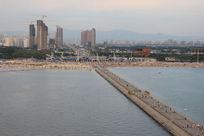 鲅鱼圈城市俯瞰景色图片