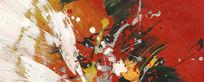 抽象艺术画现代装饰画