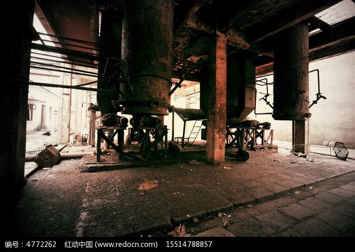 大型化工设备 废弃工厂