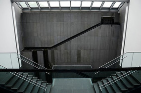 苏博室内楼梯