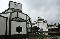 苏州博物馆侧面