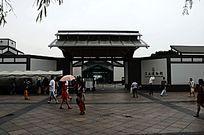 苏州博物馆大门