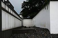 苏州博物馆石子景观