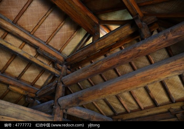苏州园林建筑木结构图