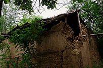 阳平寨子村废弃的土房