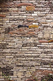 砖瓦墙壁肌理