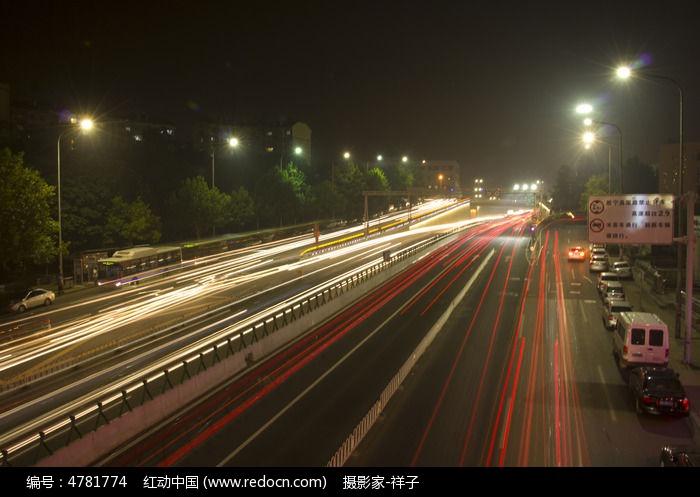 青岛夜景图片,高清大图_道路交通素材