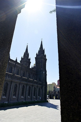 沈阳南关教堂哥特式建筑
