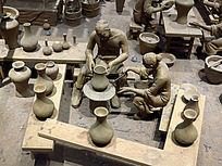 清代御窑厂制瓷工艺——圆器拉坯