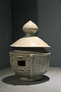唐宋青油瓷仓