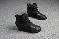 掏宝摄影鞋子侧面内增高鞋子