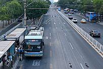 城市公交站台
