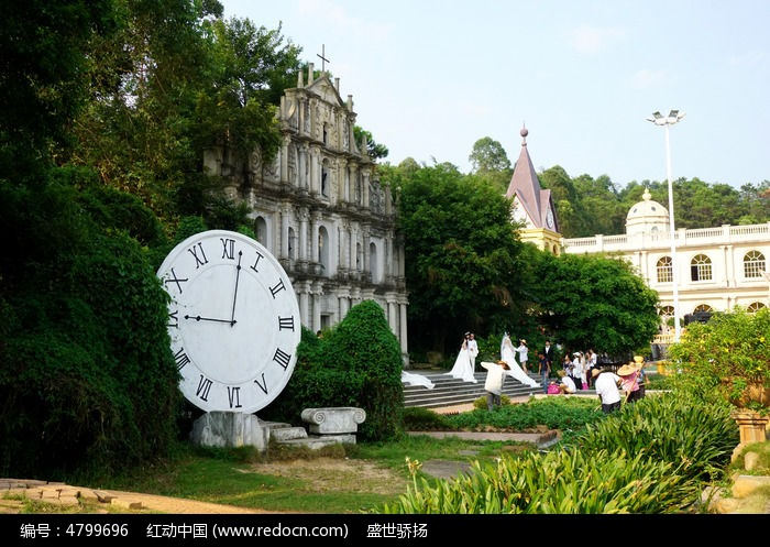 欧式主题建筑风景图片