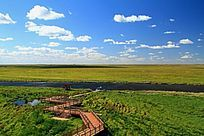 雁窝岛湿地栈道