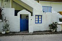 白色特色建筑